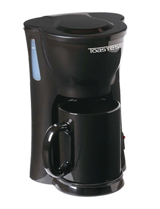 One Cup Coffeemaker Black