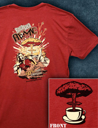 Atomic Explosion T Shirt Large Image