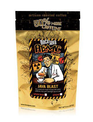 Boca Java Atomic Java Blast Coffee with 50% More Caffeine