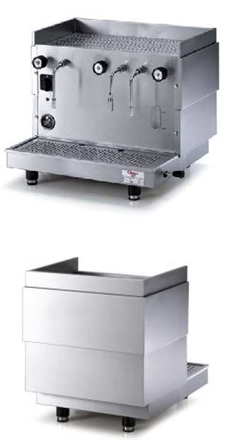 Astoria AL2 Double Steamer produces steam in quantity without interfering with the coffee brewing of your espresso machine. Professional steamer for cafes and restaurants