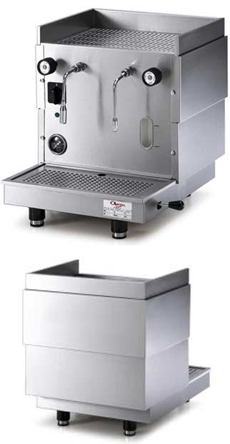 The Astoria AL1 Single Steamer produces steam without interfering with the brewing of your espresso machine
