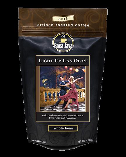 Light Up Las Olas Dark Roast Coffee
