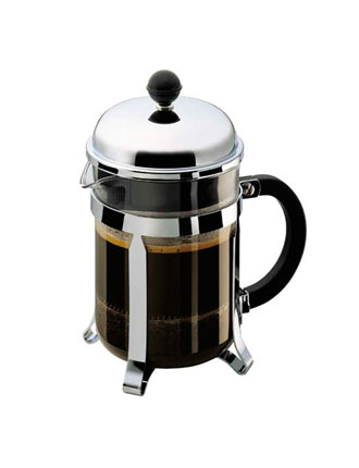 Bodum Chambord 4 Cup French Press, Steel