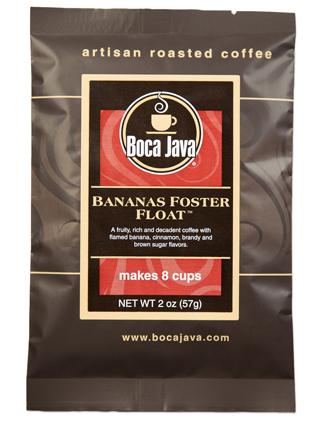 Bananas Foster Float Coffee Baby Boca