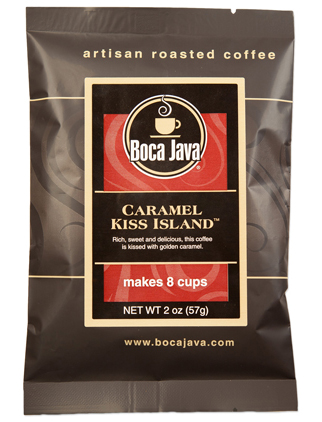 Caramel Kiss Island Coffee Baby Boca