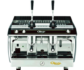 Astoria AL 2 Lever Gloria Espresso Machine, Metallic Black