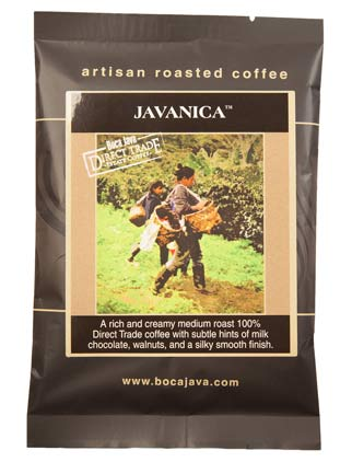 Javanica Direct Trade Coffee Baby Boca