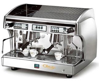 Astoria SAE 2 Automatic Perla Espresso Machine, Silver/Inox