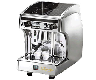 Astoria SAE/JUN Automatic Perla Espresso Machine, Silver/Inox
