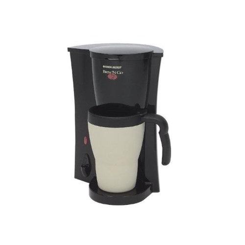 Black & Decker - Brew N Go Coffee Maker - Black/White - DCM18 50875512573 eBay