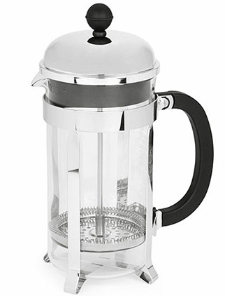 Bodum Chambord 8-Cup French Press, Steel