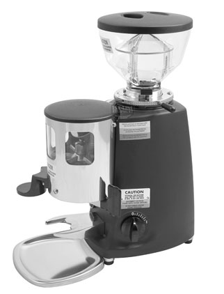 Mazzer - Mini - Commercial Coffee Grinder - Black