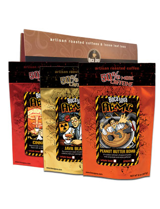 Atomic Coffee - Extra Caffeine 3-Pack