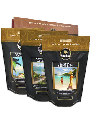 Central & South American Coffees 3-Pack