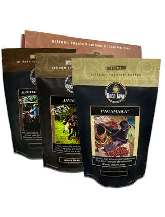 Direct Trade Coffee Gift Set 3-Pack