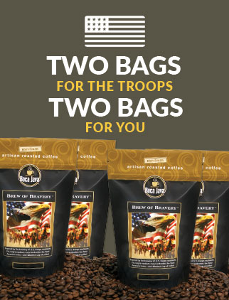 2 Bags for the Troops, 2 for You and Free Shipping