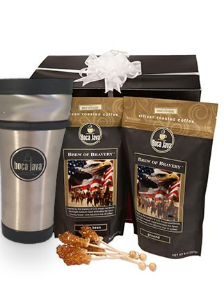 Support the Troops Coffee Donation Gift Set