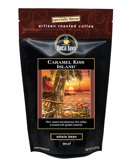 Caramel Kiss Island Coffee