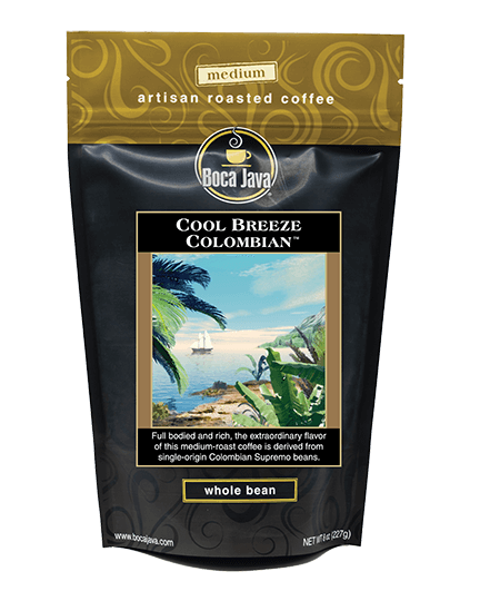 Cool Breeze Colombian Coffee