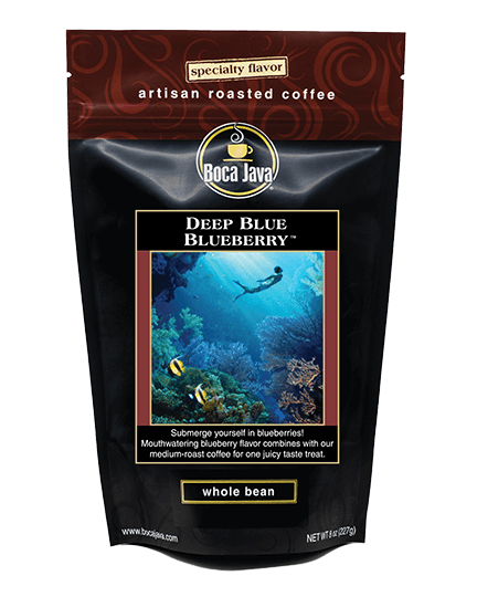 Deep Blue Blueberry Coffee