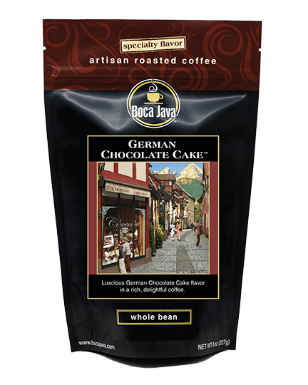 German Chocolate Cake Coffee