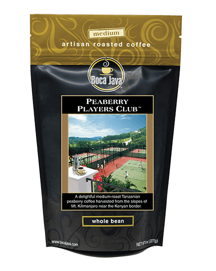 Peaberry Players Club Coffee