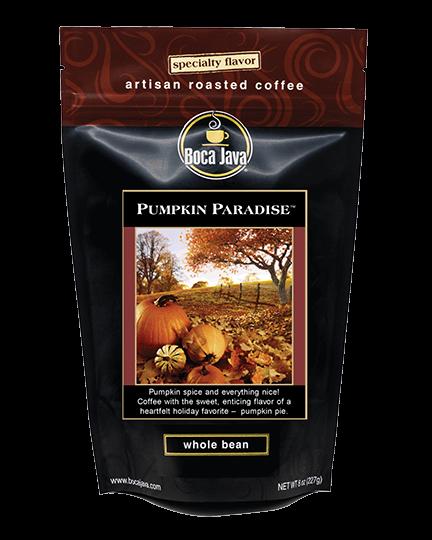 Pumpkin Paradise Coffee