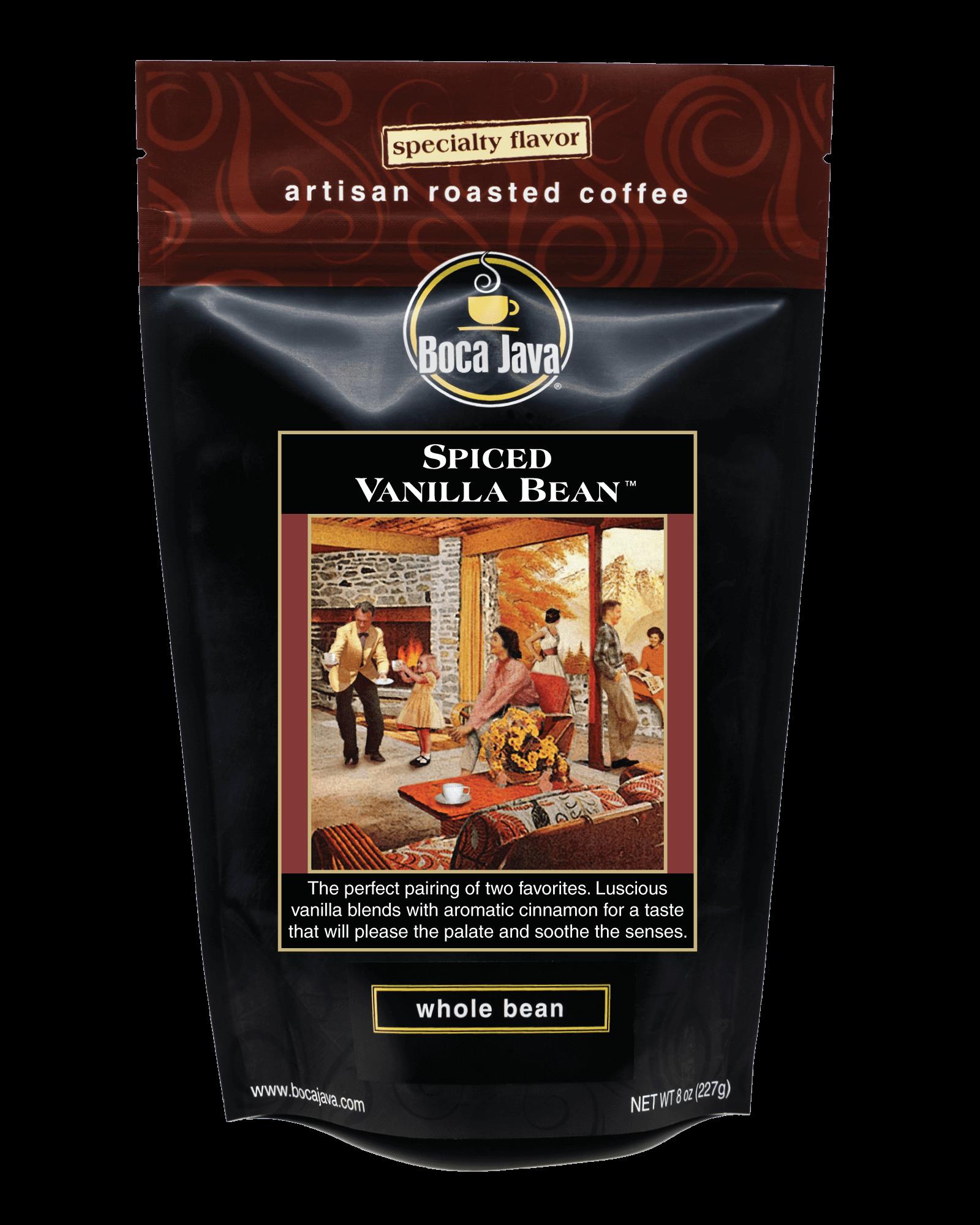 Spiced Vanilla Bean