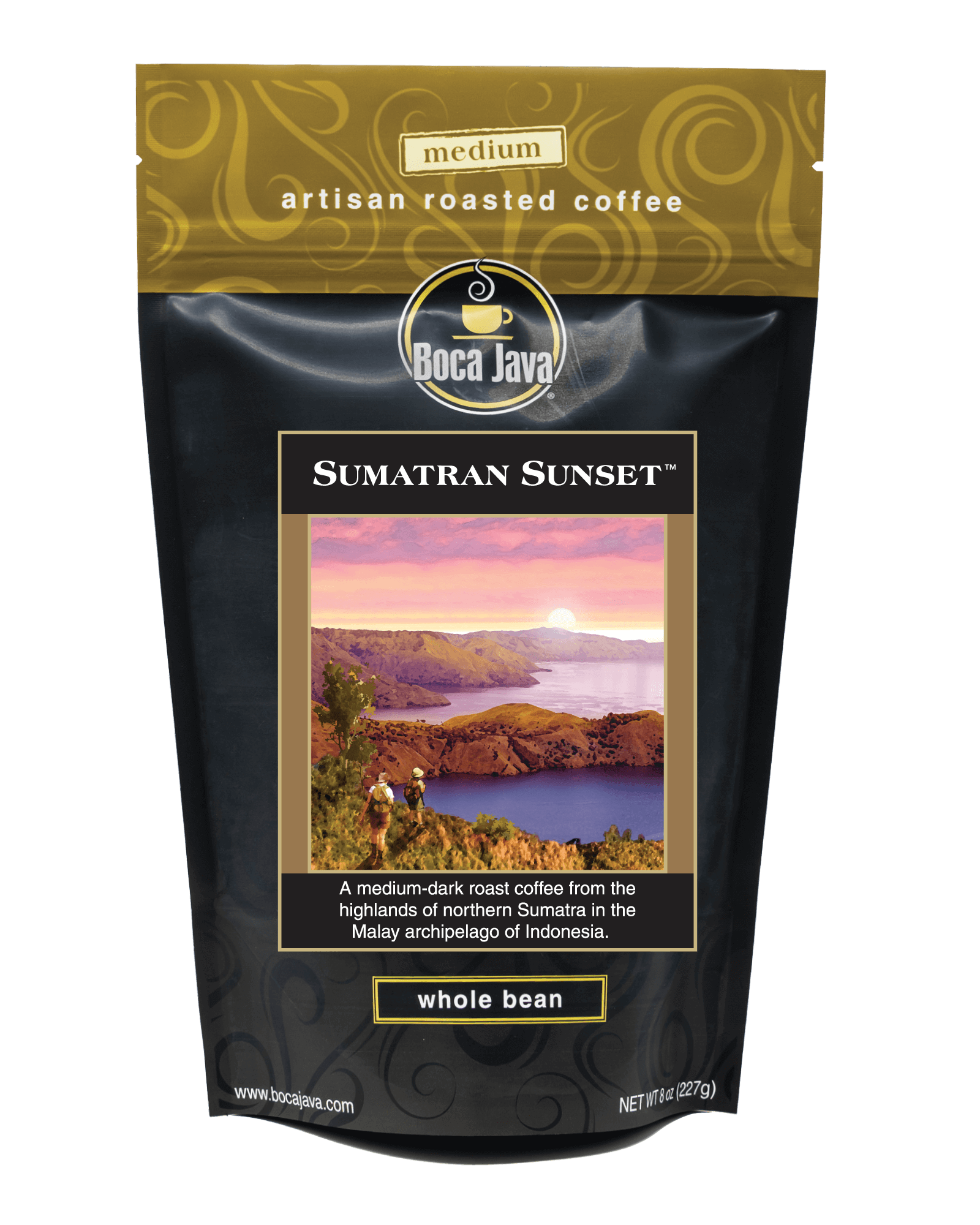 Sumatran Sunset