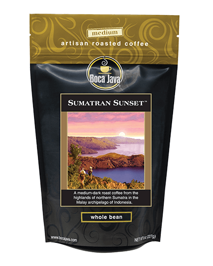 Sumatran Sunset Coffee