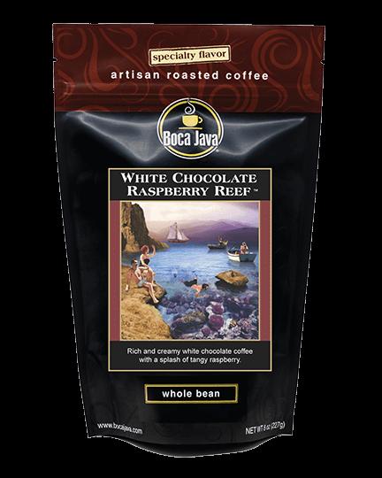 White Chocolate Raspberry Reef Coffee