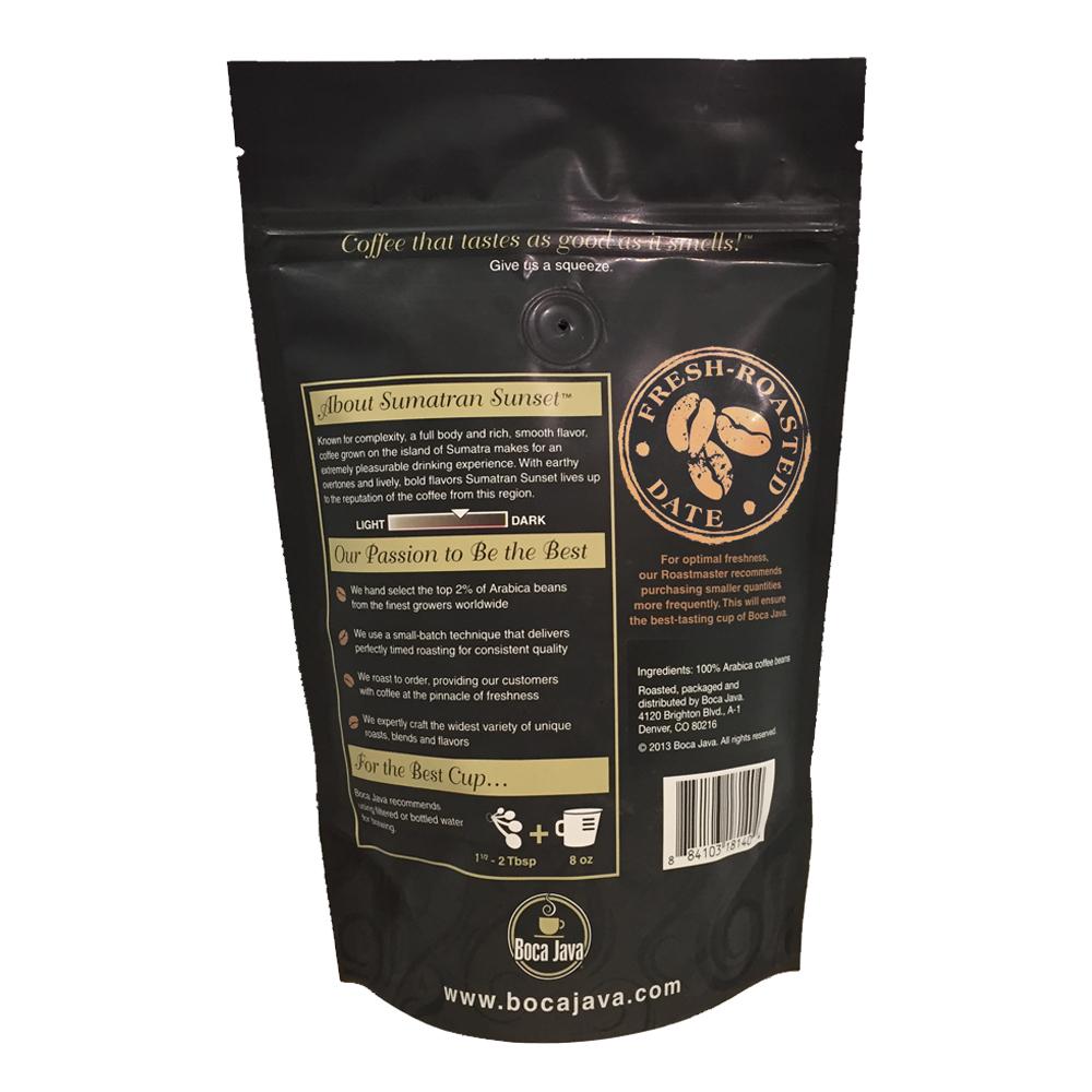 Medium Roast Decaf Coffee - Sumatran Sunset Coffee (decaf)